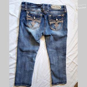 Rock Revival Jeans - Rock Revival Ligeia Easy Crop Capri Jeans